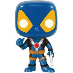 Marvel Comics POP! Vinyl Bobble-Head Deadpool Thumbs Up X-Men Costume 9 cm