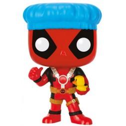 Marvel Comics POP! Vinyl Bobble-Head Deadpool Shower Cap & Ducky 9 cm