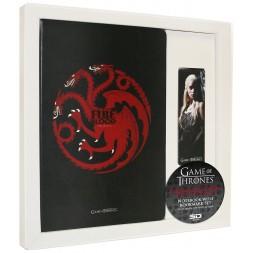 Game of Thrones Notebook & Magnetic Bookmark Set Targaryen