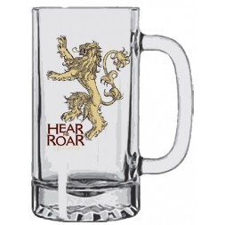 Game of Thrones House Lannister - hear me roar Stein