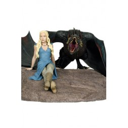 Game of Thrones Statue Daenerys & Drogon 46 x 36 cm