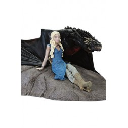 Game of Thrones Statue Daenerys & Drogon 8 x 18 x 23 cm