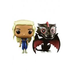 Game of Thrones POP! Vinyl Figures 2-Pack Daenerys & Drogon 10 cm