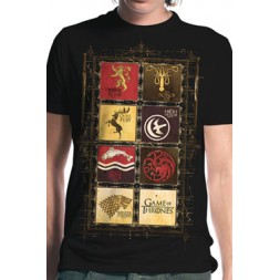 Game Of Thrones T-Shirt House Collection