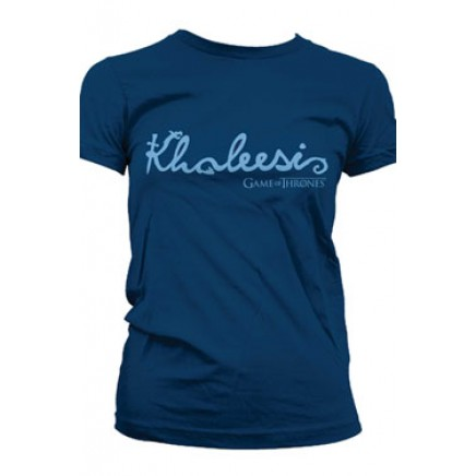 Game of Thrones Ladies T-Shirt Khaleesi Lettertype