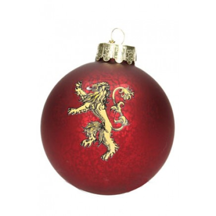 Game of Thrones Glass Ornament Lannister