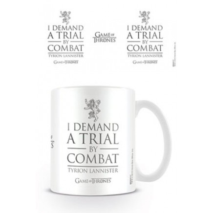 Game of Thrones Mug Trial By Combat