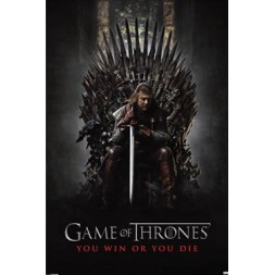 Game Of Thrones Poster Pack You Win Or You Die 61 x 91 cm (5)
