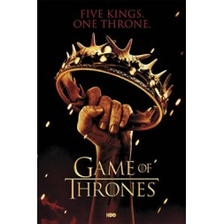 Game of Thrones Poster Pack Crown 61 x 91 cm (5)