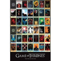 Game of Thrones Poster Pack Episodes 61 x 91 cm (5)
