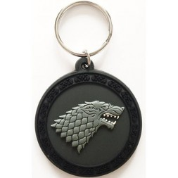 Game of Thrones Rubber Keychain Stark 6 cm