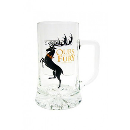 Game of Thrones Beer Glass Baratheon