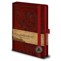 Game of Thrones Premium Notebook A5 Lannister