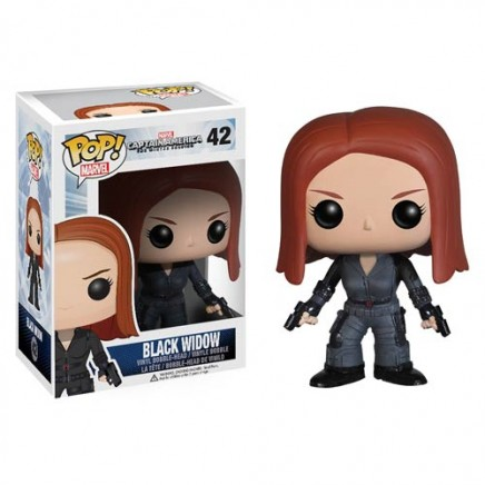Captain America POP! Vinyl figure Black Widow